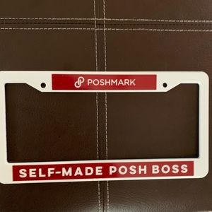 Poshmark Self Made Posh Boss license plate…